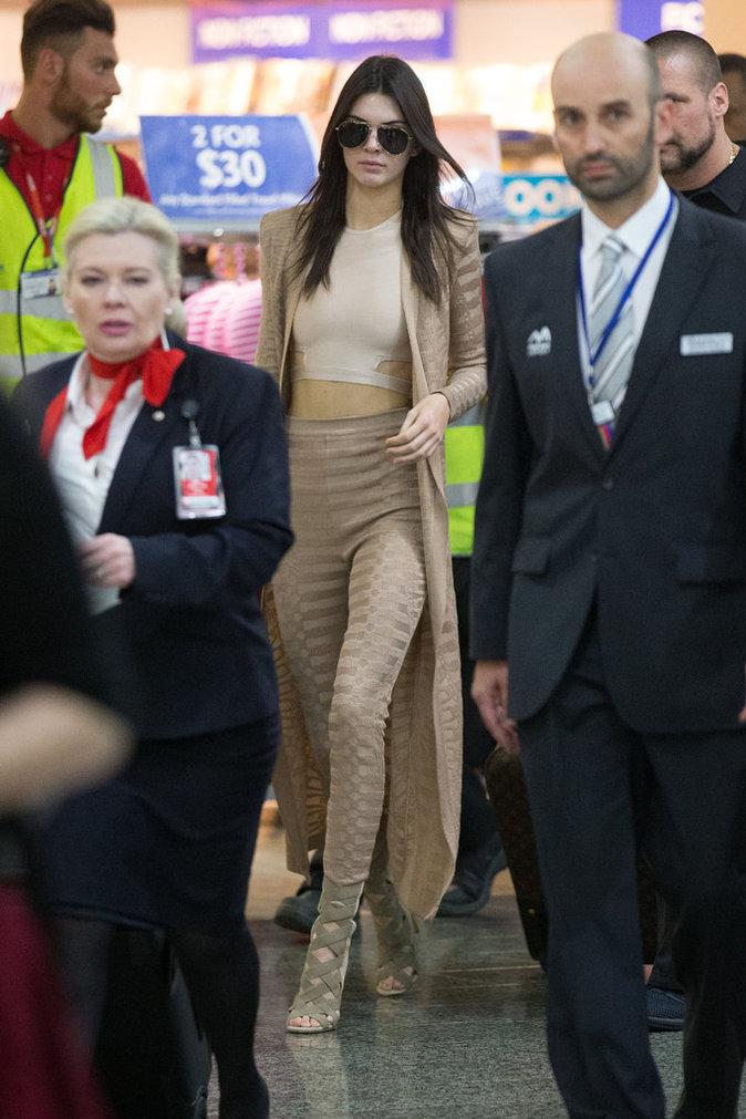 Photos : Kendall Jenner : Ultra-looké, elle vole la vedette à Kylie