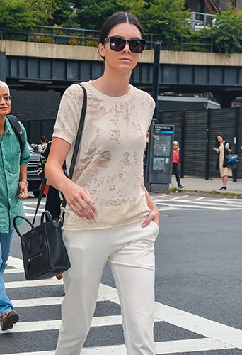Kendall Jenner à New York le 8 septembre 2014
