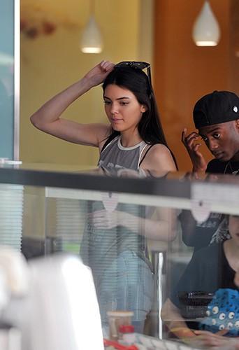 Kendall Jenner et Shamari Maurice à Los Angeles le 12 mars 2014