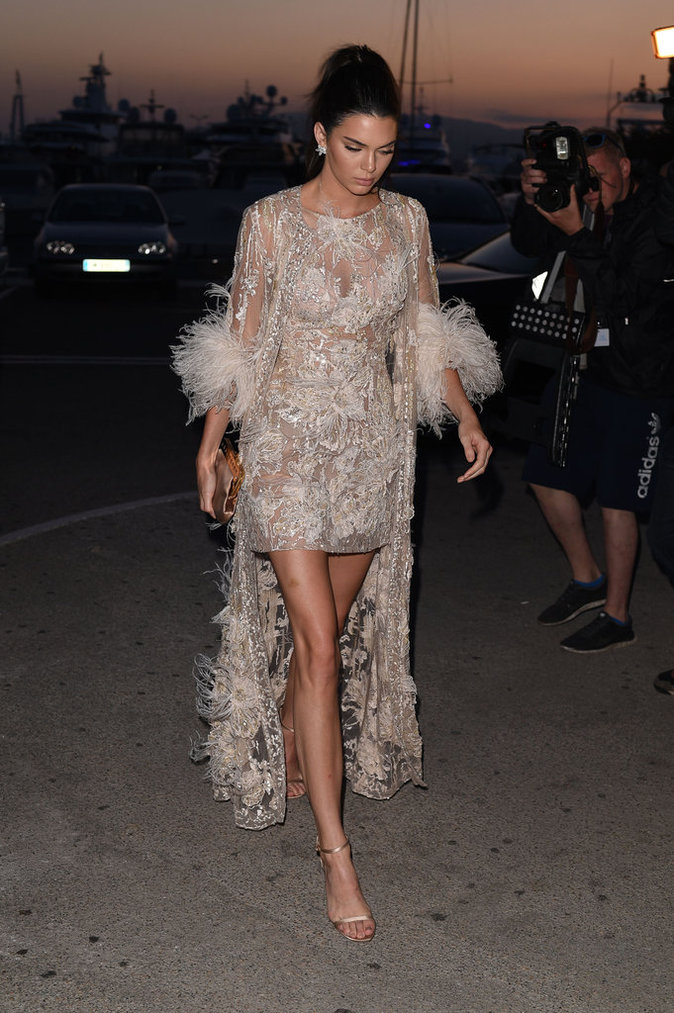 Kendall Jenner le 16 mai 2016 à Cannes
