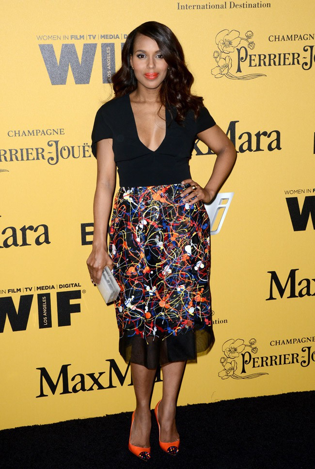Kerry Washington aux Women In Film 2014 Crystal + Lucy Awards organisés à Los Angeles le 11 juin 2014