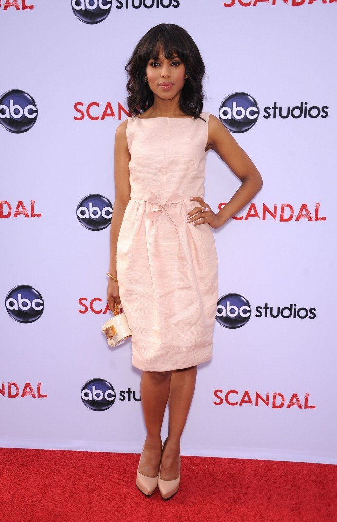 "Kerry Washington lors de la soirée ""Scandal"" à Los Angeles, le 16 mai 2013."