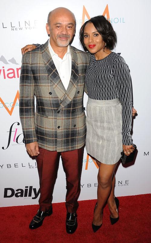 Photos : Kerry Washington : toujours aussi glam', elle met Christian Louboutin à ses pieds !