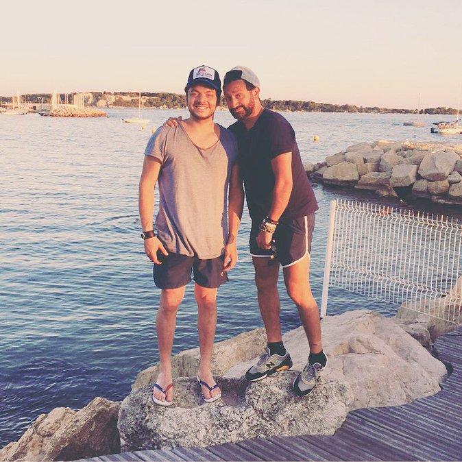 Kev Adams et Cyril Hanouna
