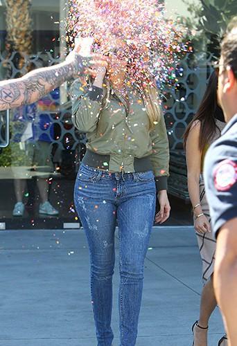 Khloé Kardashian à Los Angeles le 11 avril 2014