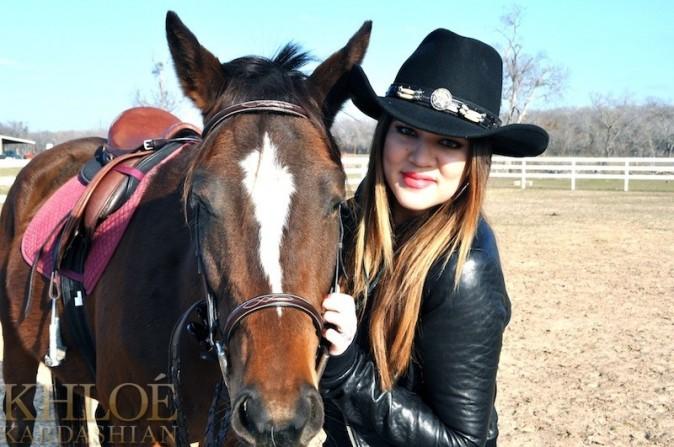 Une vrai cowgirl !