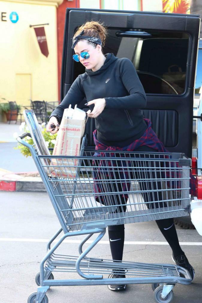Khloé Kardashian : après l'effort, le réconfort !