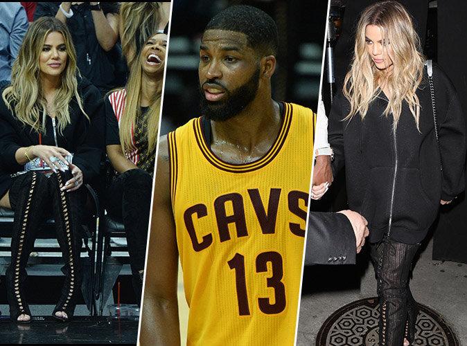Khloe Kardashian : Au premier rang pour soutenir son chéri Tristan Thompson !