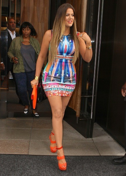 Khloe Kardashian à New York, le 29 mai.