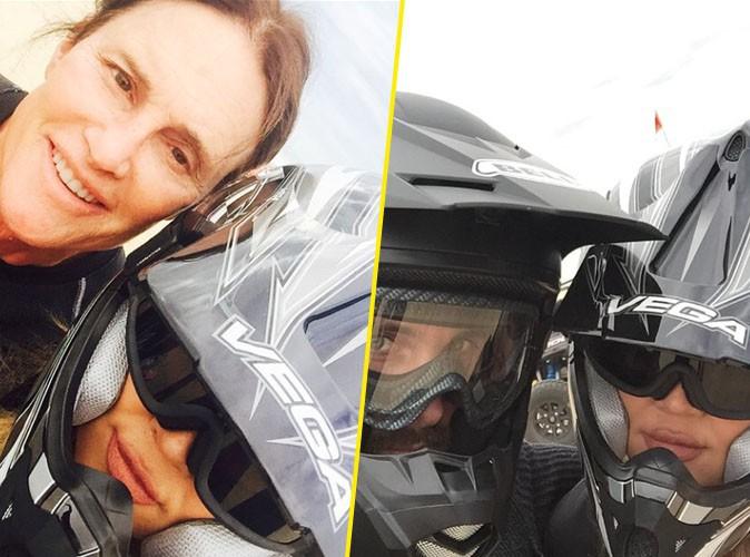 """Photos : Khloe Kardashian : elle la joue """"Fast & Furious"""" avec Bruce Jenner et Scott Disick !"""