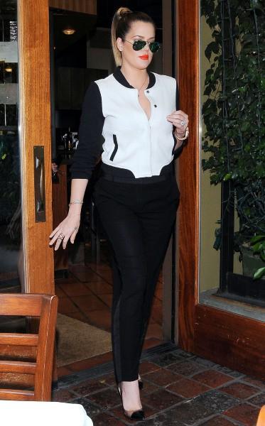Khloe Kardashian à Los Angeles, le 19 septembre 2013.