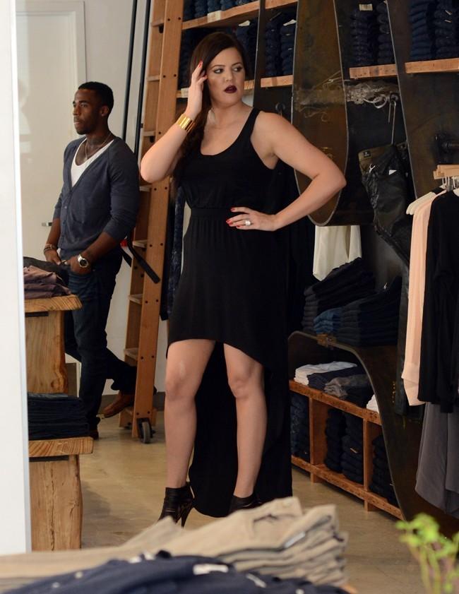 Khloe Kardashian à Miami le 15 octobre 2012