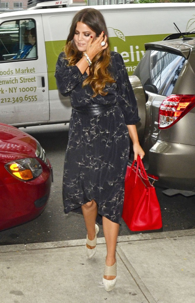 Khloe Kardashian à New York, le 20 juin 2012.