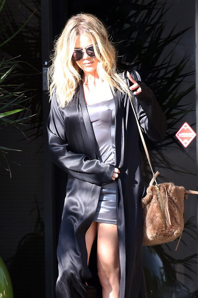 Khloe Kardashian à Los Angeles le 12 août 2016