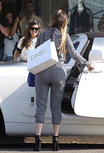 Khloe Kardashian et Kourtney Kardashian à Los Angeles le 9 septembre 2013
