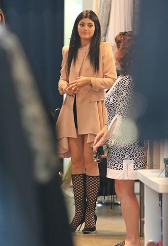 Kylie Jenner à Beverly Hills le 2 octobre 2013