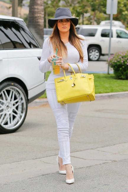 Khloe Kardashian à Los Angeles, le 3 juillet 2013.