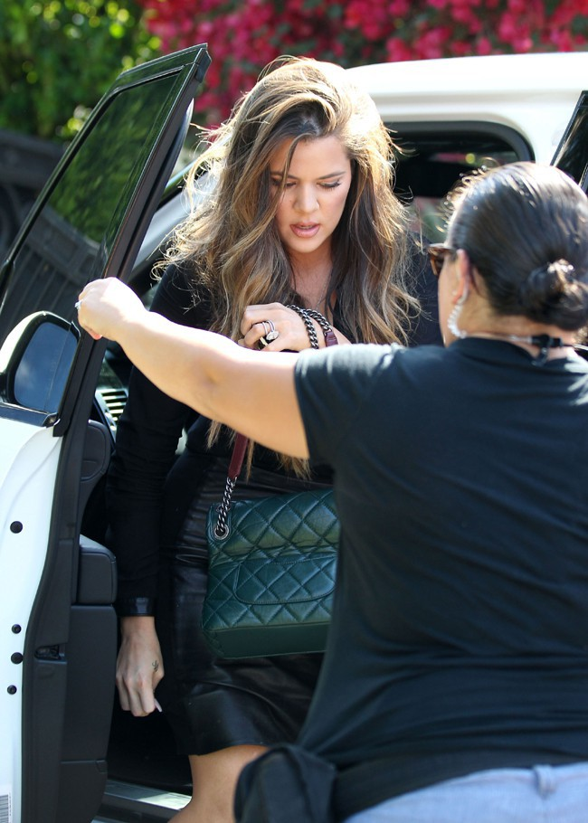 Khloé Kardashian à Malibu le 12 juillet 2013