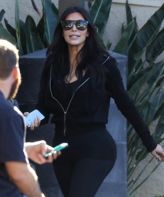 Kim Kardashian le 8 décembre 2014
