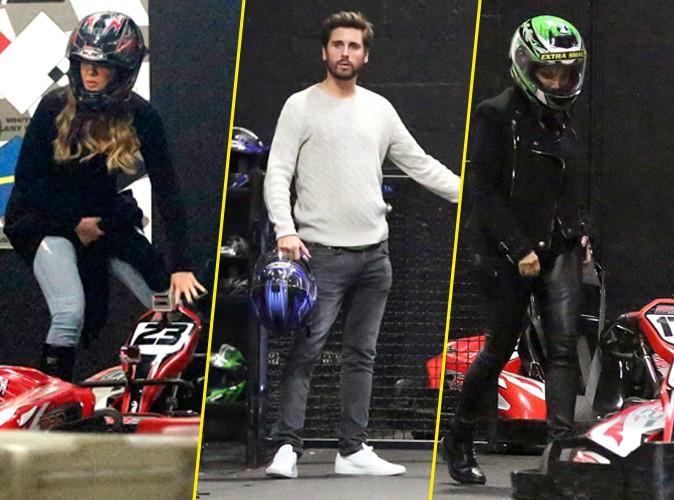 Khloe Kardashian, Scott Disick et Kris Jenner le 17 décembre 2014