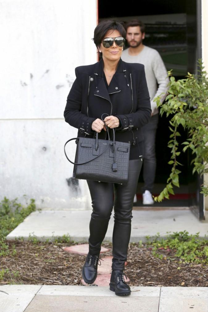 Kris Jenner le 17 décembre 2014