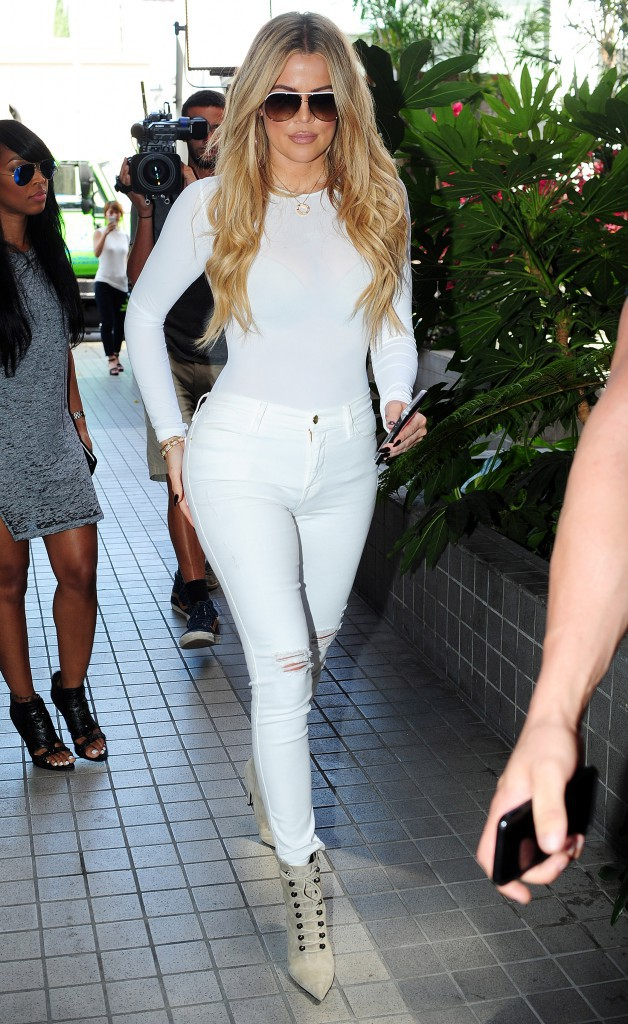 Khloe Kardashian le 1er septembre 2015