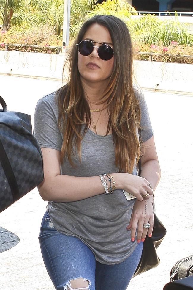 Khloe Kardashian le 17 juillet 2012 à Los Angeles