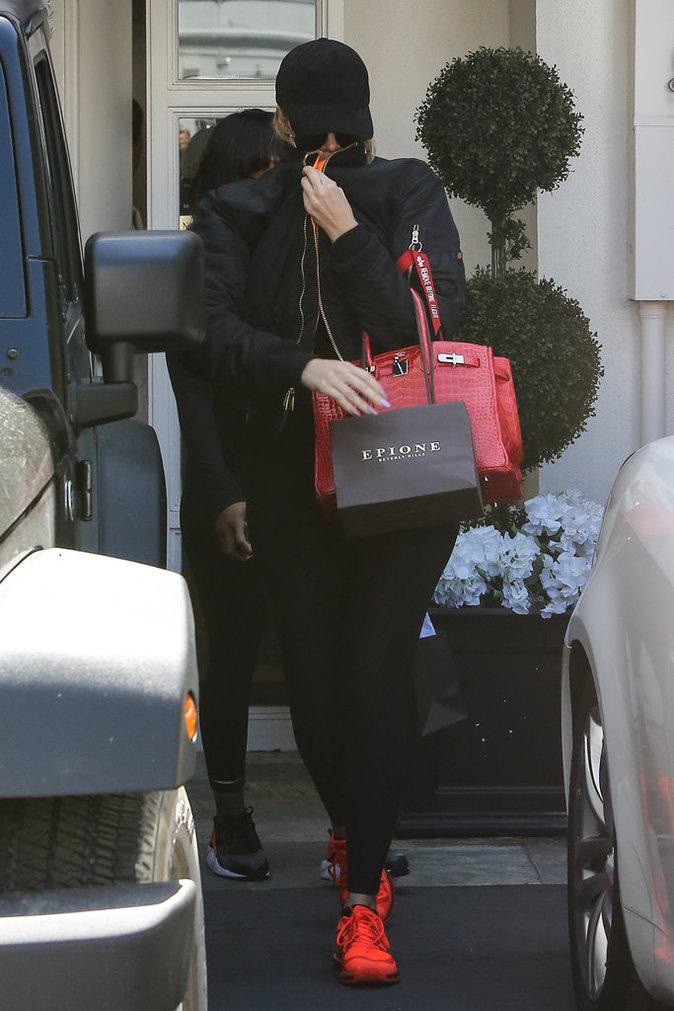 Khloe Kardashian le 2 mai à Beverly Hills