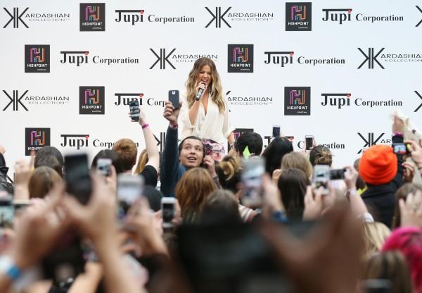 Khloe Kardashian en promo à Melbourne, le 20 novembre 2013.