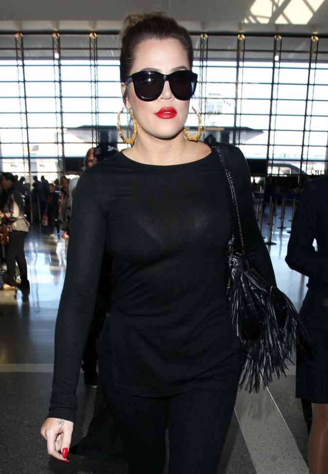 Khloe Kardashian à Los Angeles le 8 octobre 2014
