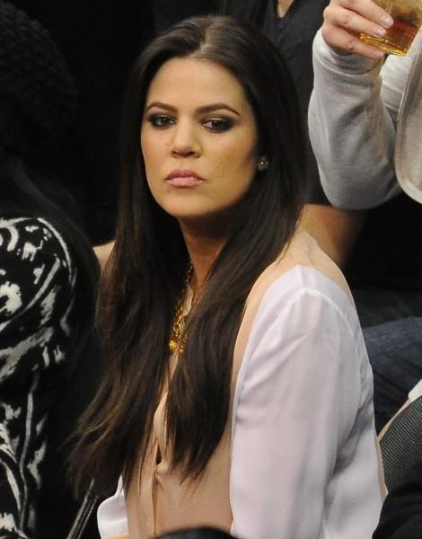 Khloé Kardashian, de mauvaise humeur