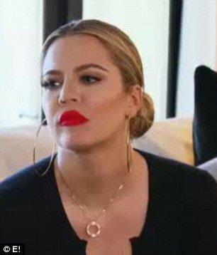 Khloe Kardashian dans le prochain épisode de KUWTK