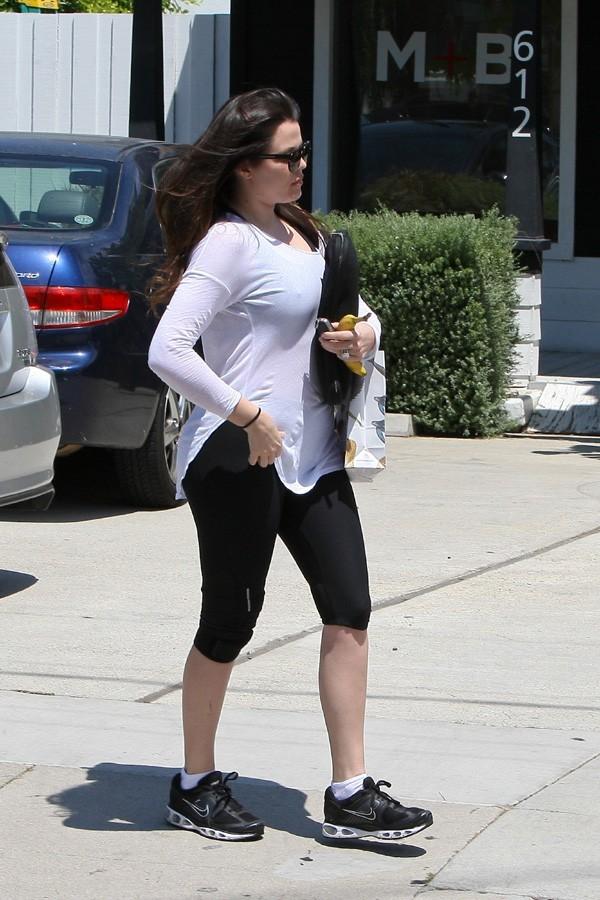 Khloé Kardashian à Beverly Hills le 1er août 2012