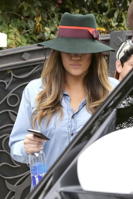 Khloe Kardashian à Malibu, le 11 juillet 2013.