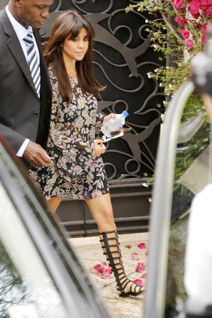 Kourtney Kardashian à Malibu, le 11 juillet 2013.