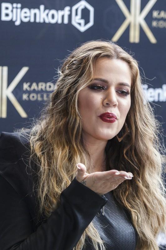 Khloe Kardashian en promo à Amsterdam, le 17 novembre 2013.
