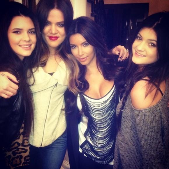 Kendall, Khloé, Kim et Kylie