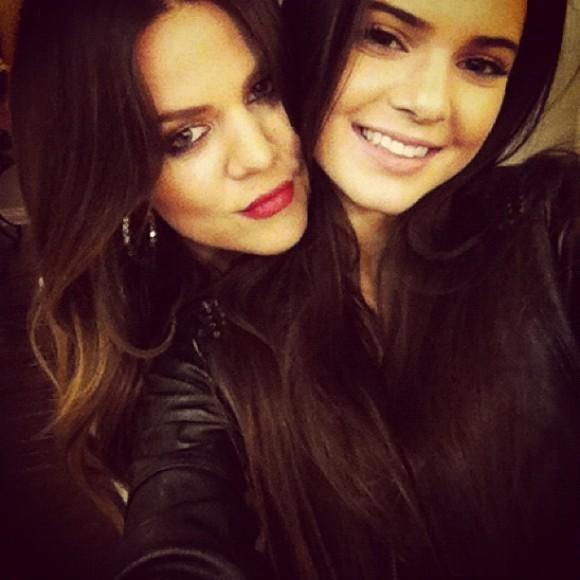 Khloé et Kendall