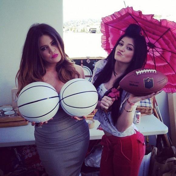 Khloé et Kylie