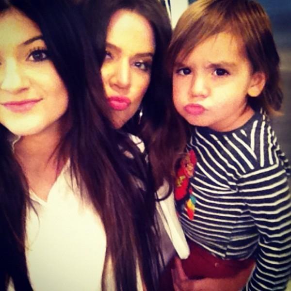 Kylie, Mason et Khloé