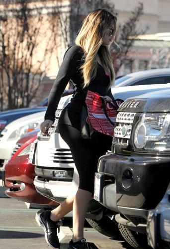 Khloé Kardashian à Los Angeles le 6 janvier 2014