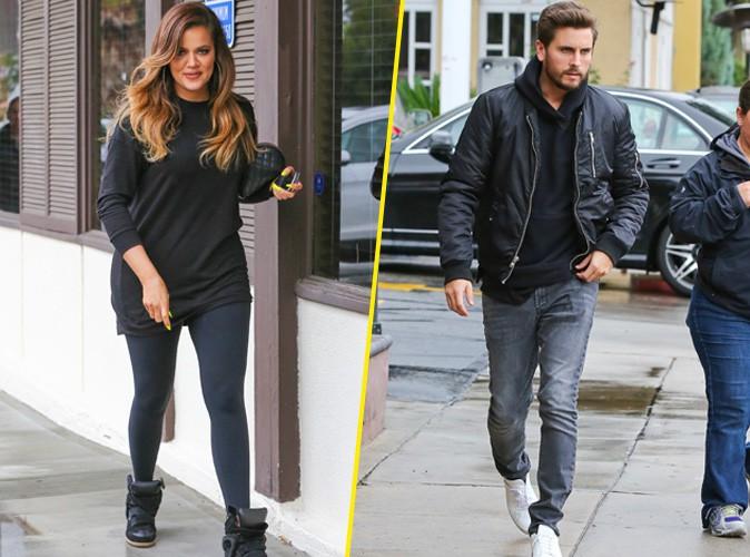 Khloe Kardashian et Scott Disick le 3 décembre 2014