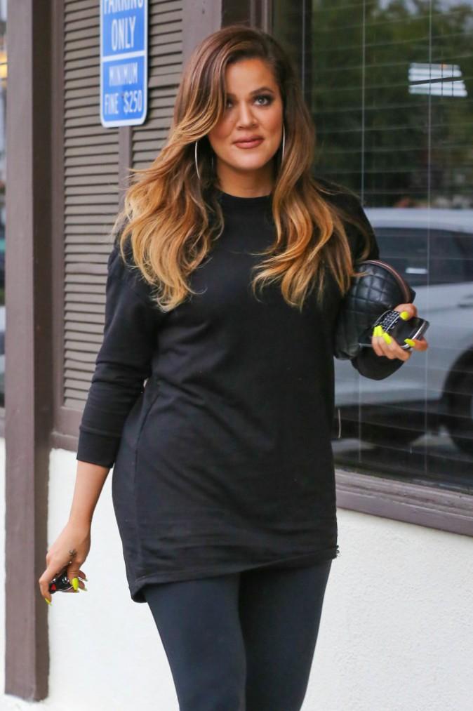 Khloe Kardashian le 3 décembre 2014