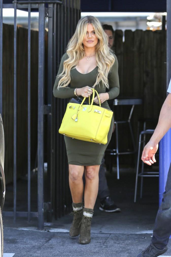Khloe Kardashian le 31 août 2015