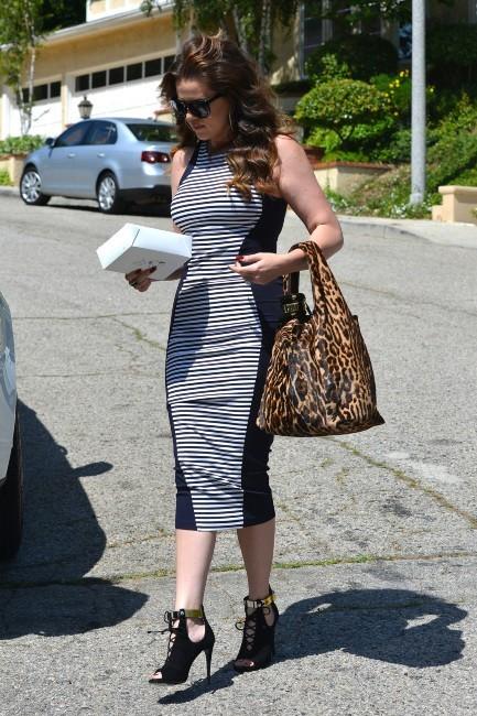 Khloe Kardashian à Los Angeles, le 15 mai 2013