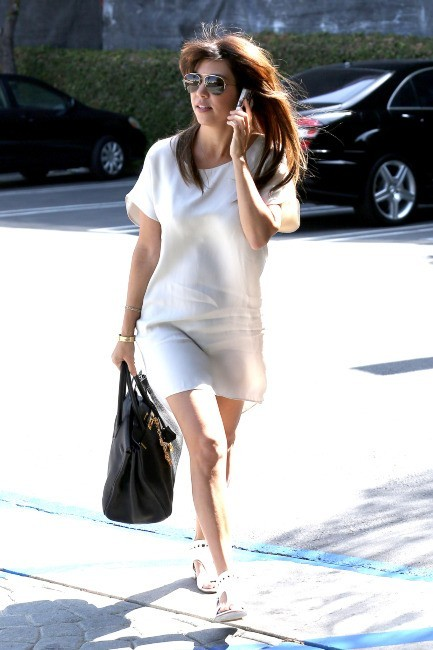 Kourtney Kardashian à Los Angeles, le 15 mai 2013