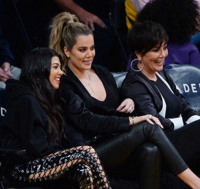 Khloe Kardashian, Kourtney Kardashian, Kris Jenner