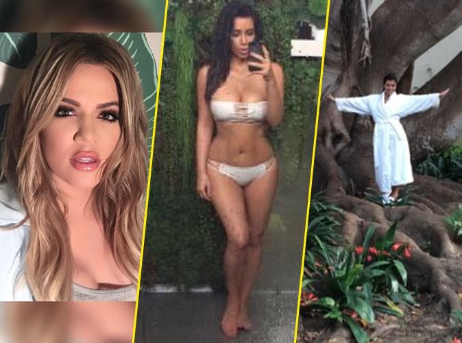Photos : Khloe, Kim et Kourtney Kardashian sulfureuses et sexy pour célébrer la Terre !