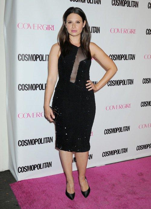 Katie Lowes à la soirée des 50 ans de Cosmopolitan, le 12 octobre 2015