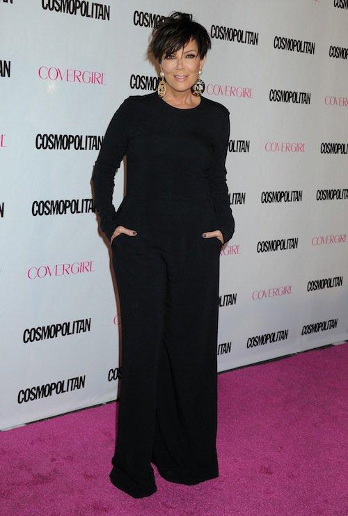 Kris Jenner à la soirée des 50 ans de Cosmopolitan, le 12 octobre 2015